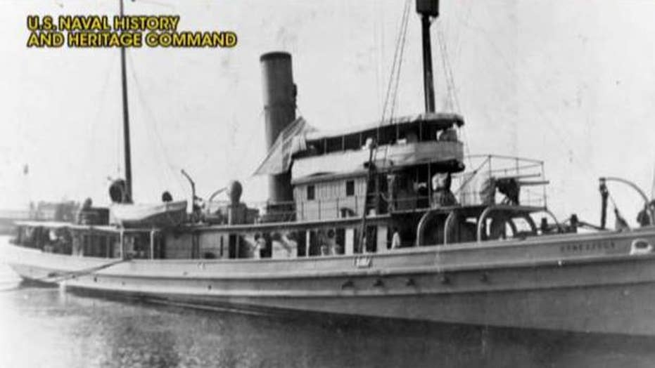 Wreckage of Navy boat missing since 1921 discovered