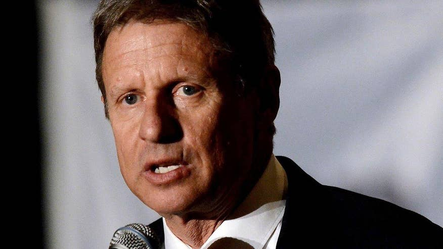 Gary Johnson says the election could be a big opportunity for someone outside the two main parties