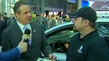 Governor Cuomo presents veteran with vehicle donated by Toyota