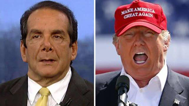 Krauthammer vs. Trump