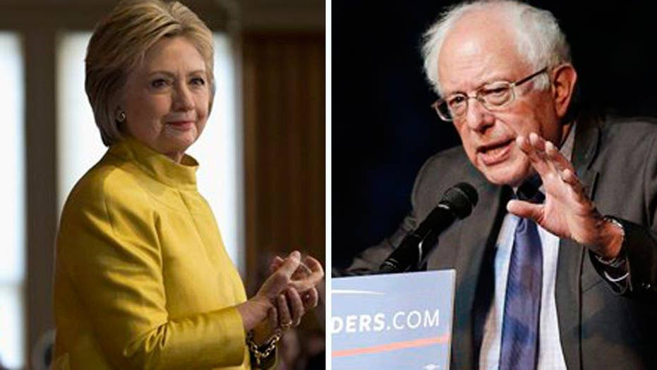 Clinton maintains big delegate lead despite Sanders wins