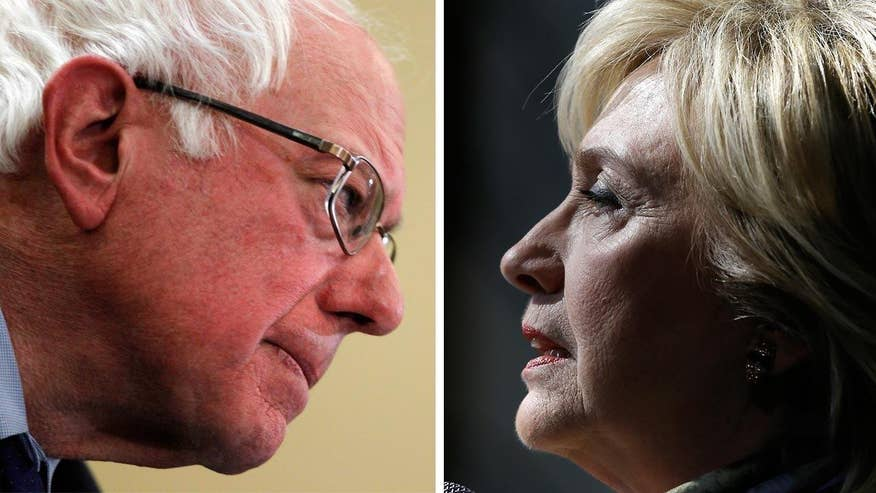 Bernie Sanders won nearly three dozen delegates more than Hillary Clinton in sweeping the Alaska, Washington and Hawaii Democratic presidential caucuses. Is Clinton in trouble or is Sanders' surge too little, too late? 'On the Record' breaks it down
