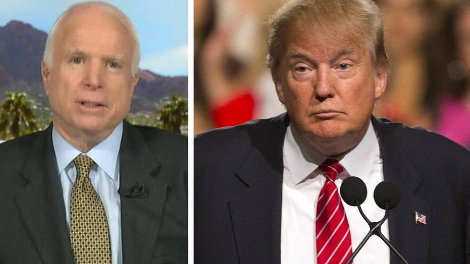 Sen. John McCain sizes up Trump's national security plan
