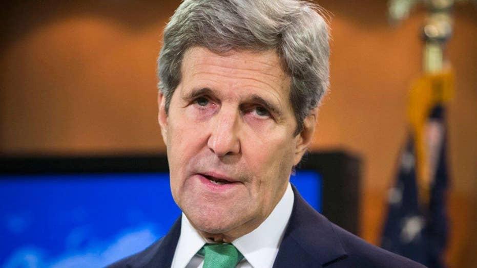 John Kerry criticizing the GOP race