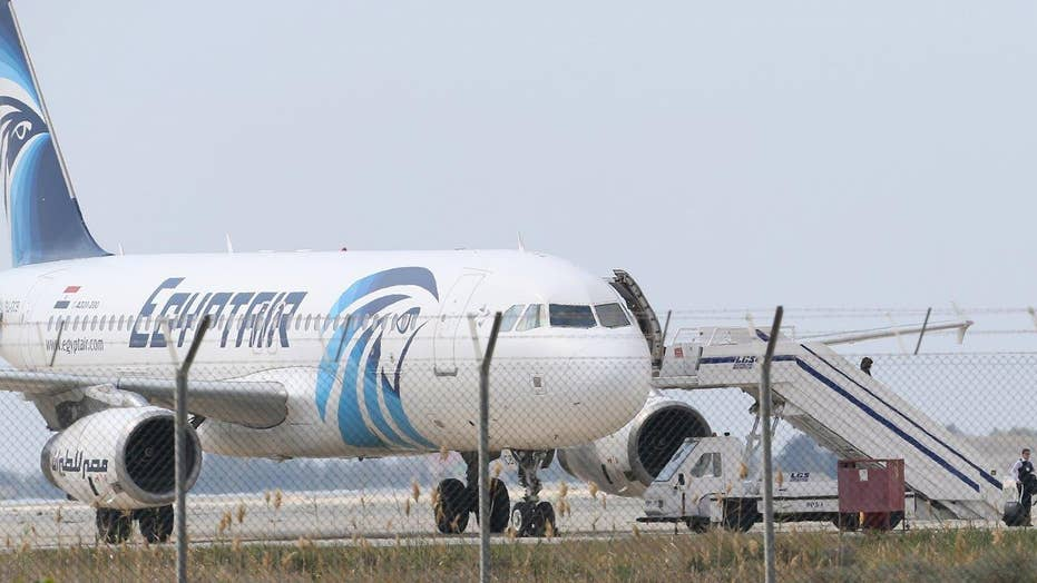 Cyprus president: EgyptAir hijacking not terror related