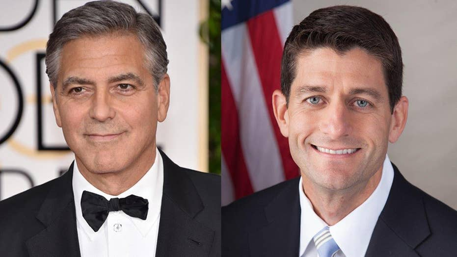 Rep. Ryan to Clooney: Stop emailing me!