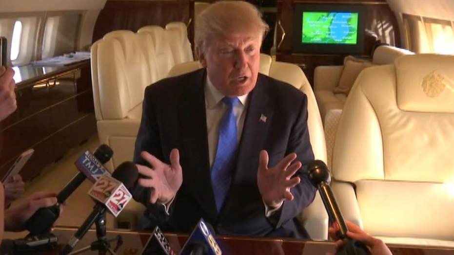 Donald Trump vows to stick by Corey Lewandowski