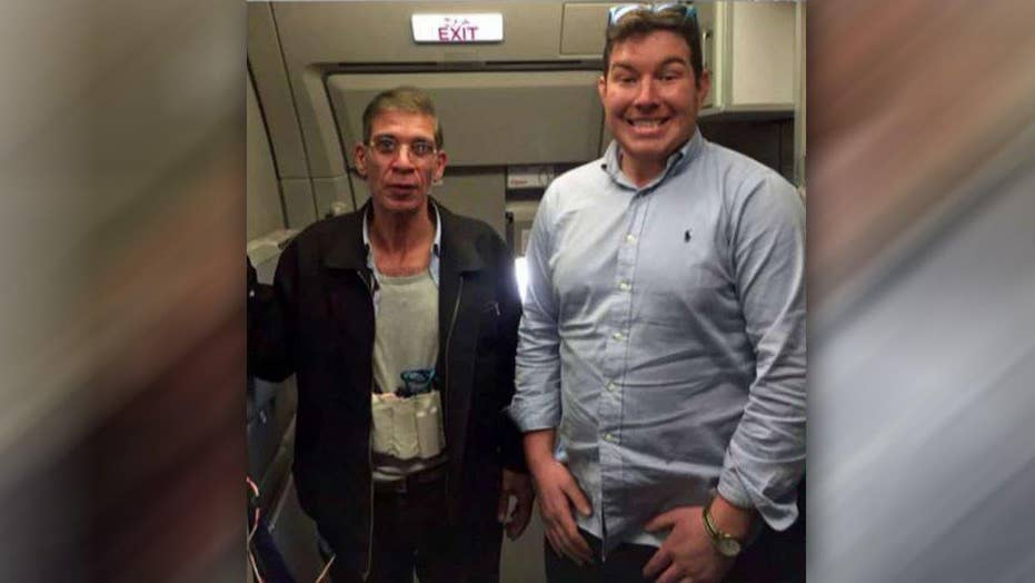 Passenger poses for pic with EgyptAir hijacker