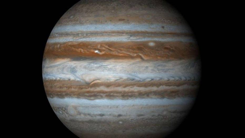 Videos capture possible asteroid slamming into Jupiter