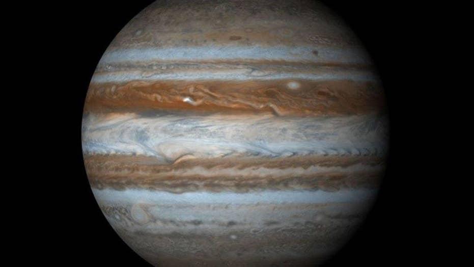 Videos capture possible asteroid slamming into Jupiter