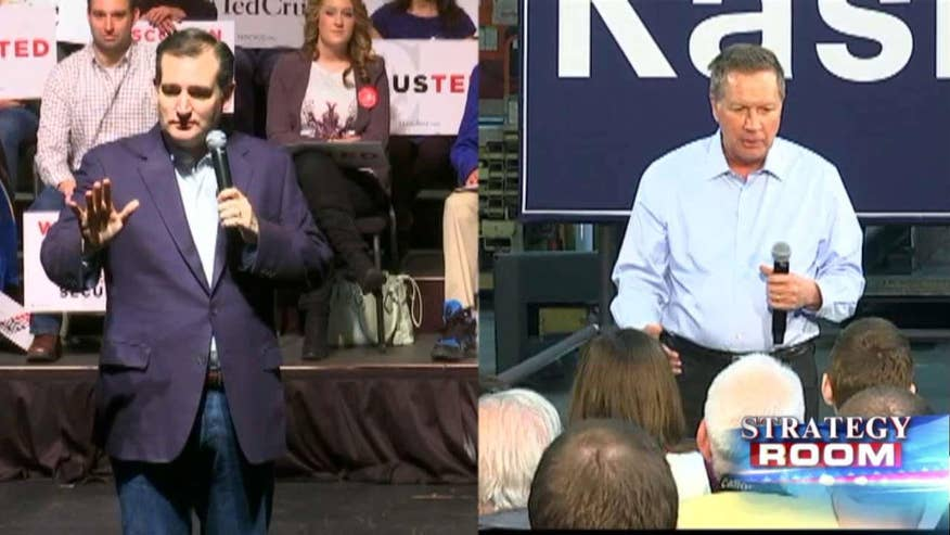 Strategy Room: Chuck Rocha and Ron Bonjean discuss rivalry between GOP candidates to win the anti-Trump vote ahead of a likely contested convention