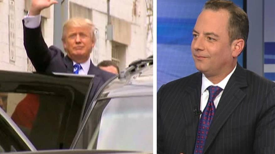 RNC Chair Reince Priebus goes 'On the Record' on his meeting with 2016 GOP front-runner Donald Trump