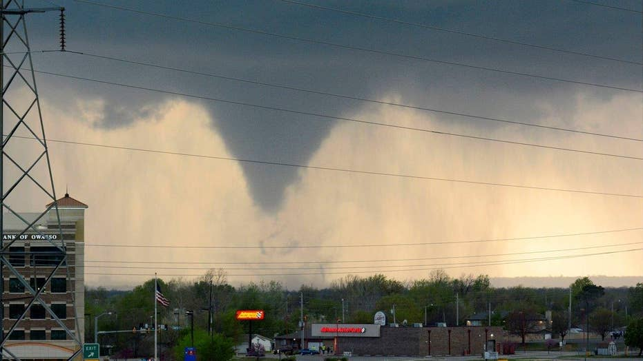 Multiple tornadoes rip through parts of Oklahoma