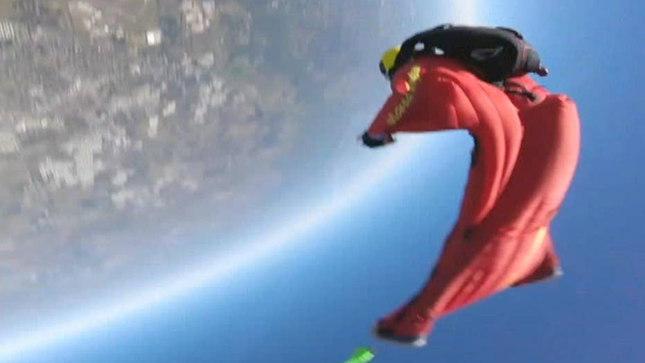 Freak accident: Skydiver paralyzed after mid-air collision