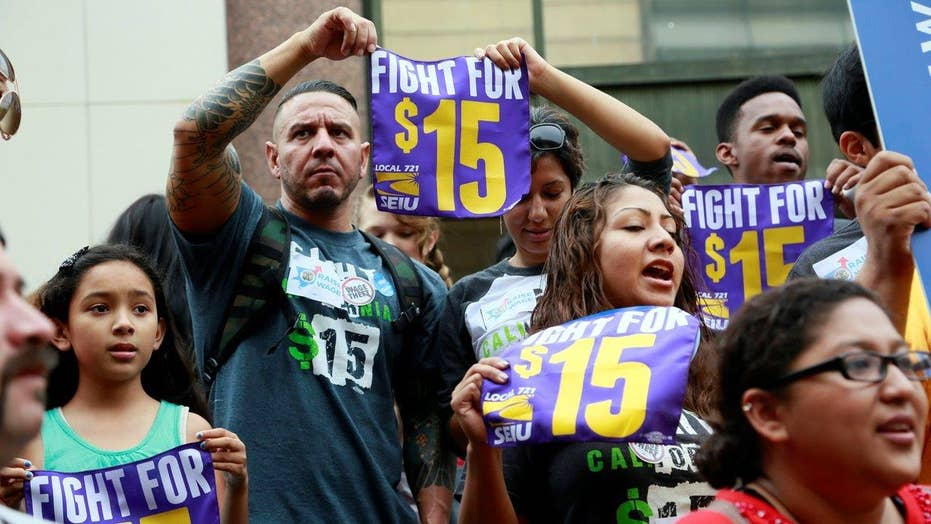 Debate over minimum wage heats up in several states