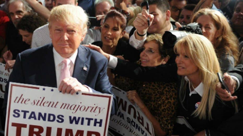 Is the Trump campaign worried about the women vote?