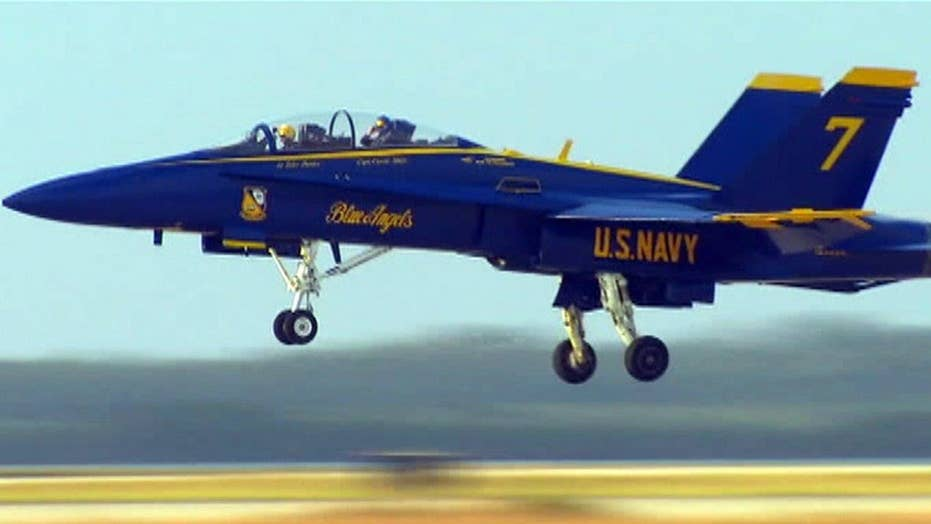 The Blue Angels celebrate 70th anniversary