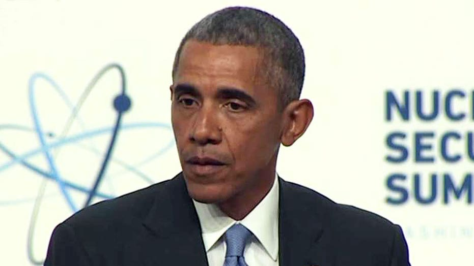 Obama: Republican frontrunner not informed in world affairs