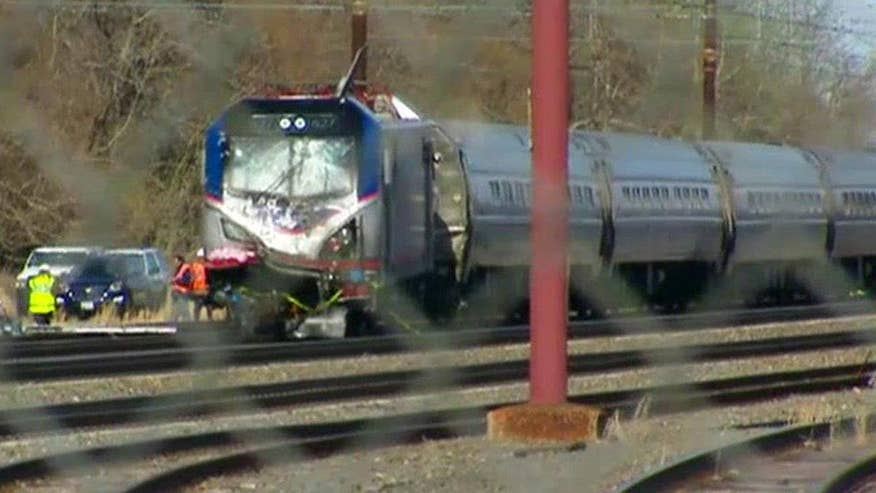 Amtrak train derails in PA, at least 30 injured