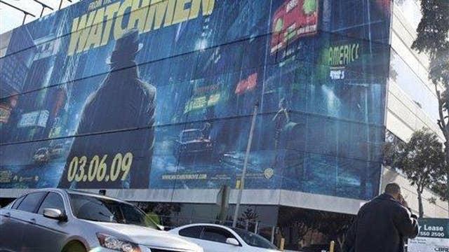 Digital billboards along roadway distracting motorists