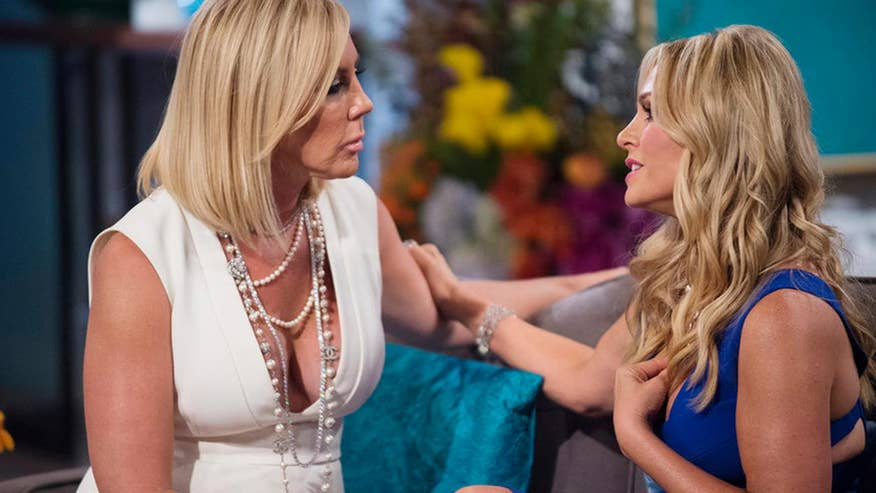 Tamra Judge and Vicki Gunvalson's car rolls during filming