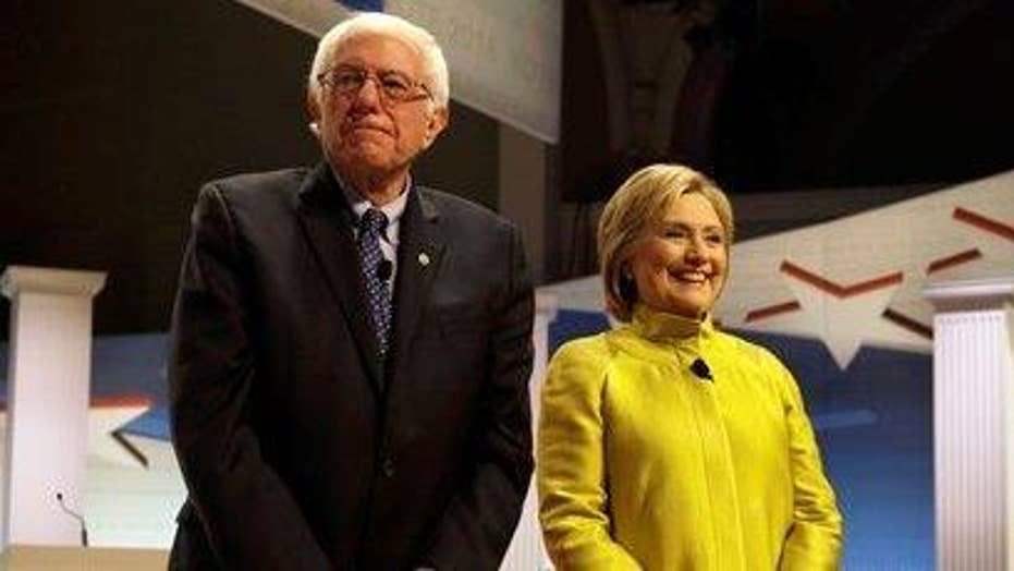 Clinton, Sanders spar over debates ahead of New York primary
