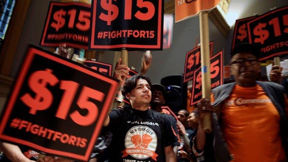 Fight for $15 leader on claims wage hike will hurt consumers