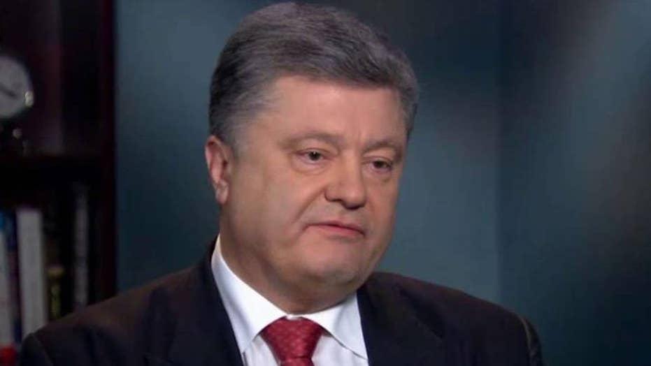 Petro Poroshenko on Vladimir Putin: 'I don't trust him'