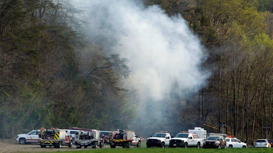 Five killed after tourist helicopter crash in Tennessee