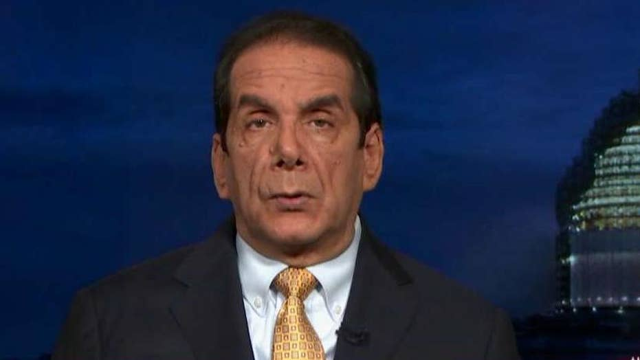 Krauthammer salutes Trump's 'rock-solid' floor of support