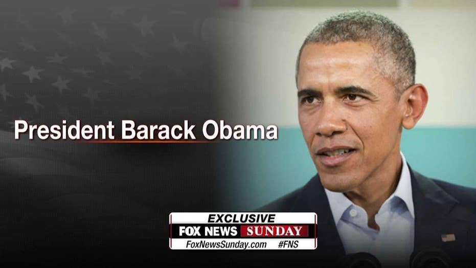 President Obama to appear exclusively on 'Fox News Sunday'