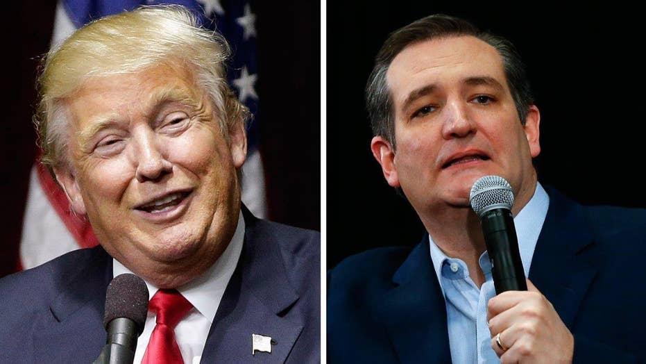Trump receives warm NY welcome, Cruz gets cold shoulder