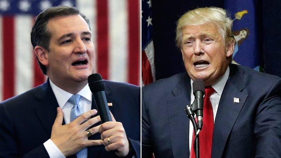 Trump, Cruz battle over 'New York values'