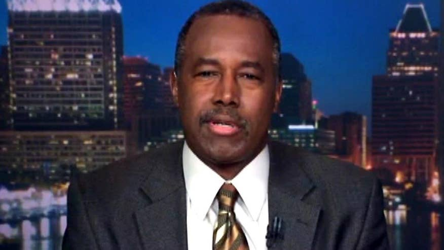 Former presidential candidate Dr. Ben Carson goes 'On the Record'