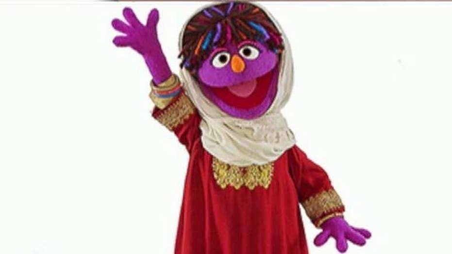 'Sesame Street' introduces Afghan girl named Zari
