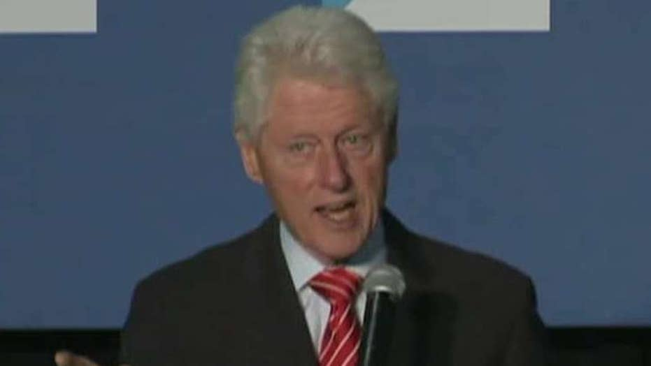 Bill Clinton clashes with Black Lives Matters protesters