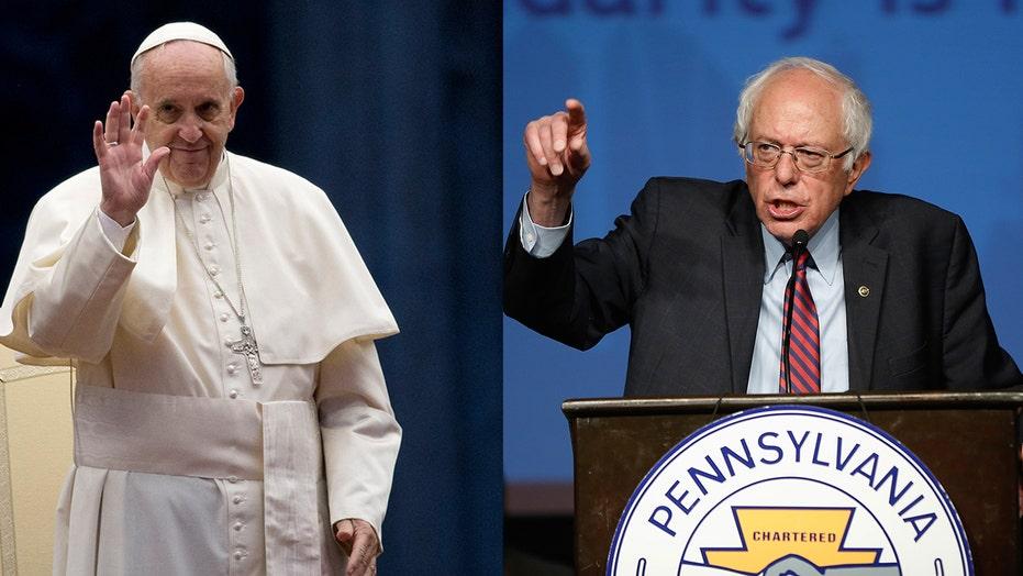Pope invites Bernie Sanders to the Vatican