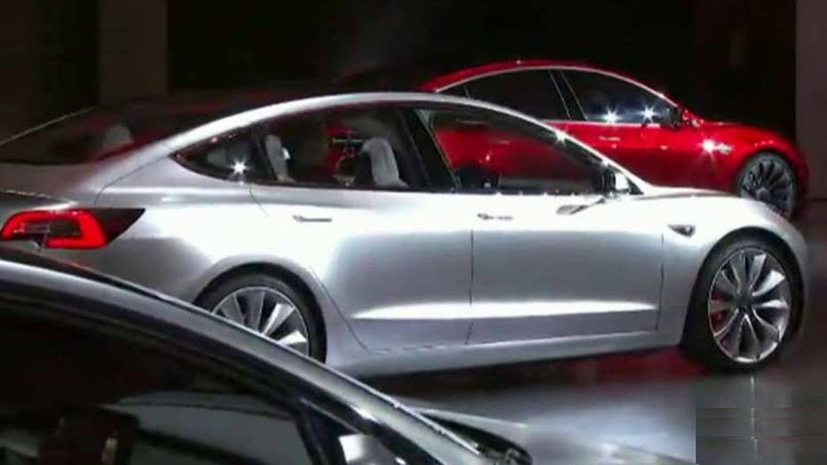 Greta: A revolution's upon us - Tesla's Model 3 electric car