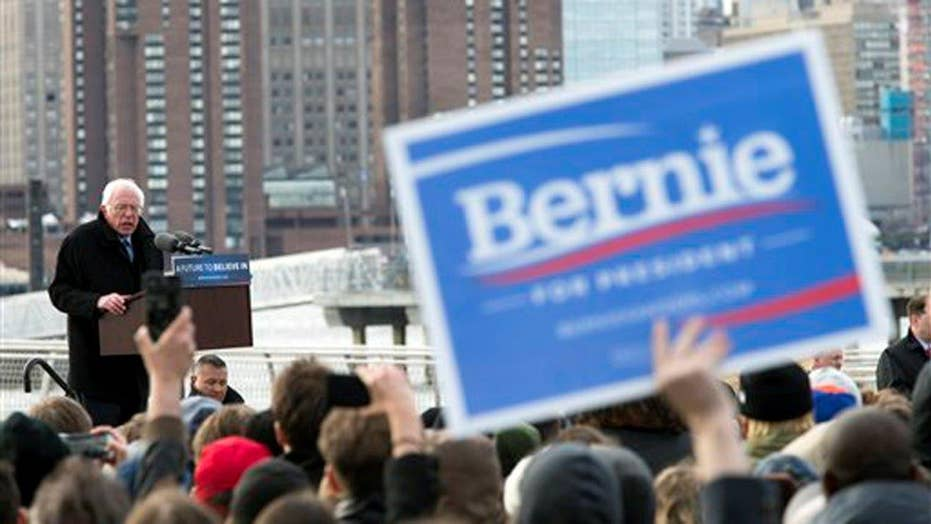 AP: Sanders wins Wyoming's Democratic caucuses