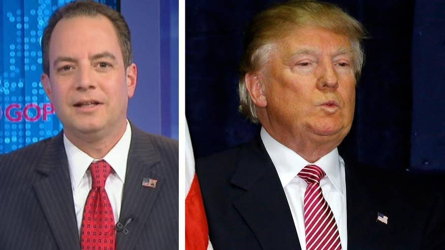 Donald Trump claims he should have locked up the GOP nomination because he has gotten more votes by far than Ted Cruz and John Kasich, accusing the establishment of 'crooked shenanigans.' RNC Chair Reince Priebus goes 'On the Record' to respond