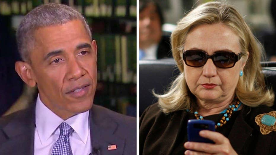 Obama downplays significance of 'classified' Clinton emails