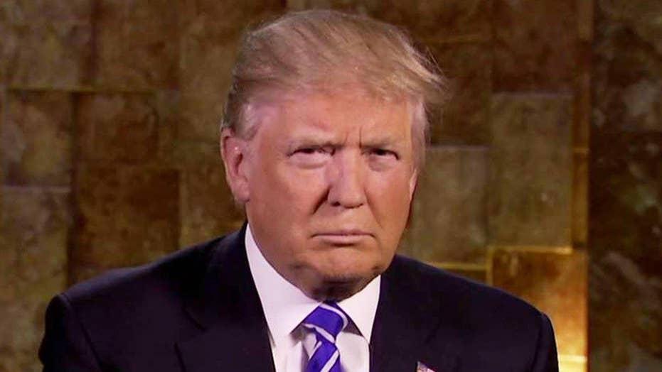 Donald Trump on winning over voters