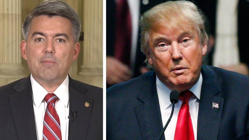 Colorado Senator Cory Gardner goes 'On the Record' to dispute Donald Trump's claim that the primary process was 'rigged'