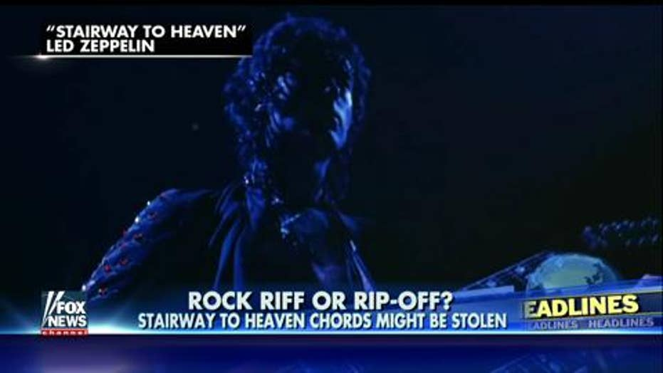 Led Zeppelin faces copyright trial over 'Stairway to Heaven'