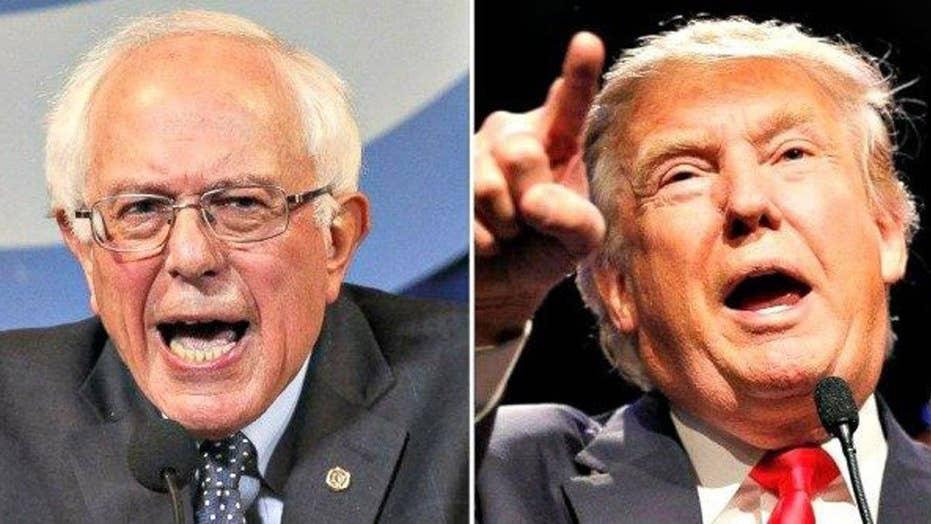 Donald Trump's and Bernie Sanders' presidential plans