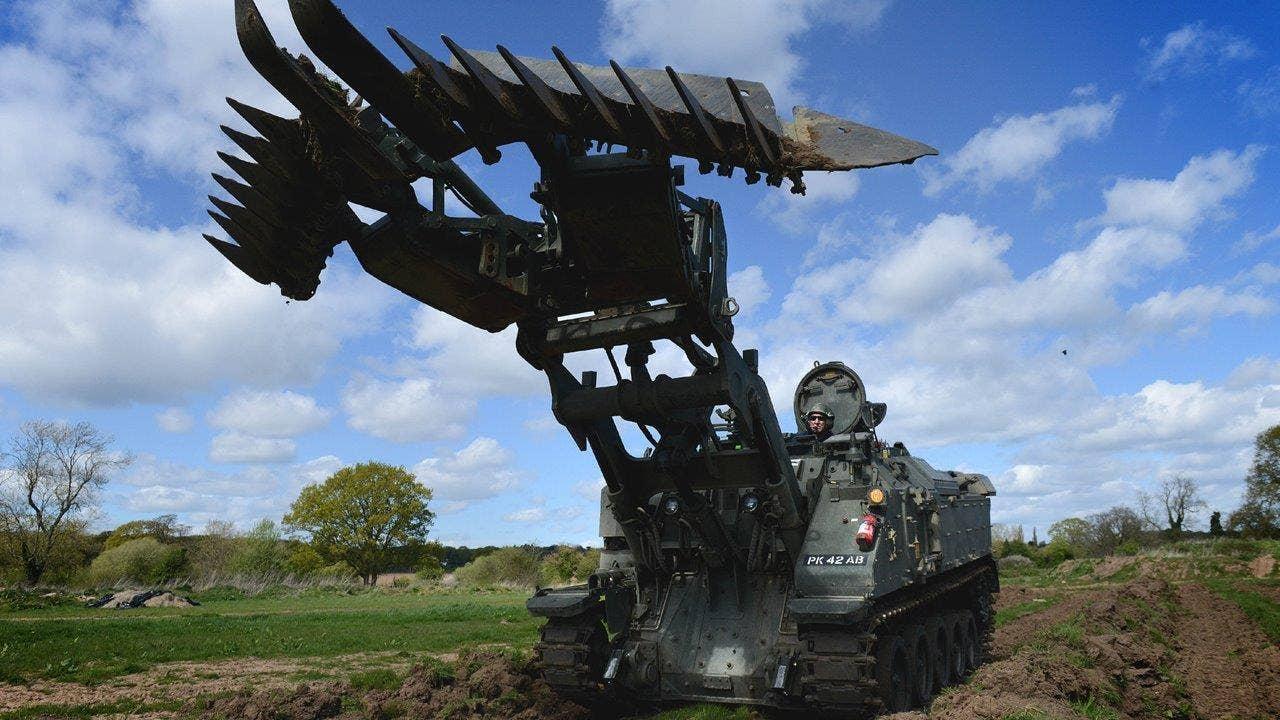 This Huge Combat Tractor Is The Ultimate Multitasker Fox