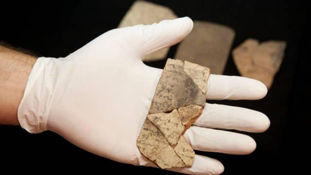 Do ancient ceramic shards hold clue to key biblical texts?