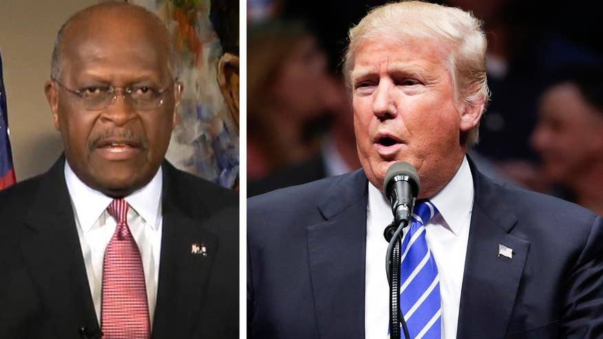 Should Donald Trump stop focusing so much on his war of words with RNC Chair Priebus and 'crooked' delegate rules and concentrate on his campaign's ground game strategy? Former presidential candidate Herman Cain goes 'On the Record'