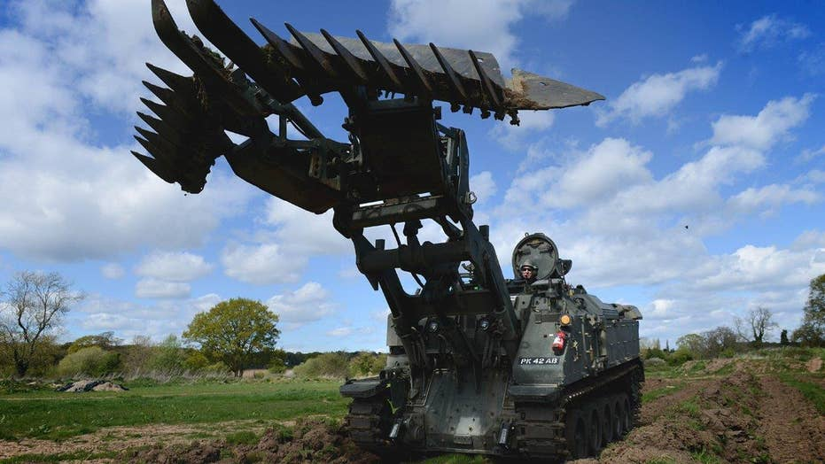 Firepower: This combat tractor is the ultimate multitasker