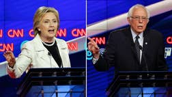 Hillary Clinton may very well have locked up the Democratic nomination at Thursday night's debate in Brooklyn.